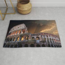 The Coliseum of Ancient Rome Rug