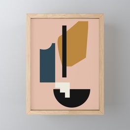 Shape study #2 - Lola Collection Framed Mini Art Print