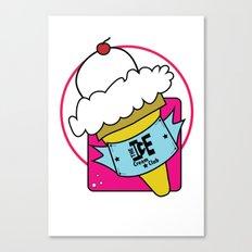The Ice Cream Club Canvas Print
