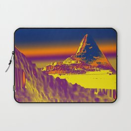 Mountain landscape colorful illustration painting Laptop Sleeve