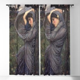 John William Waterhouse's Boreas 1903 Blackout Curtain