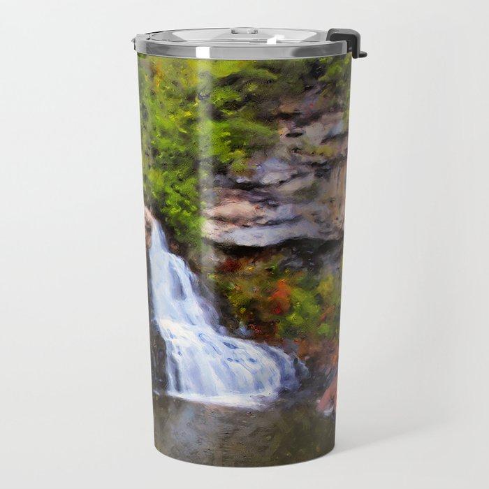 Blackwater Falls, West Virginia Travel Mug