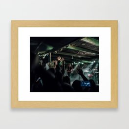 No Closer To Heaven Framed Art Print