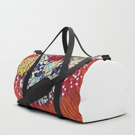 Brighten Your Day Flowers Duffle Bag