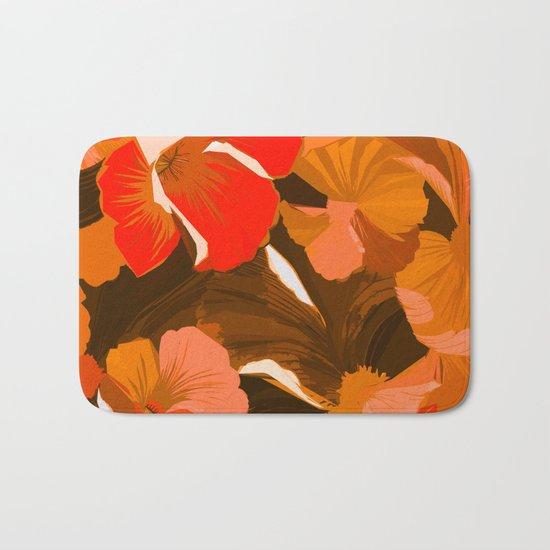 Donna's Autumn Woodcut Bath Mat
