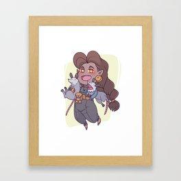 VA Sabel Framed Art Print