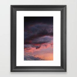 Sunset Atlas Framed Art Print