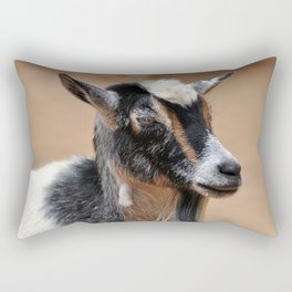 Goat Portrait Rectangular Pillow
