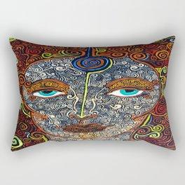 Vision of Ajna Rectangular Pillow