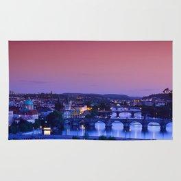 Charles bridge, Karluv most, Prague Rug