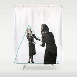 Parallel Worlds Shower Curtain