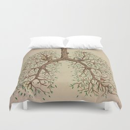 Breathe! Duvet Cover