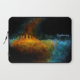 Sydney City Skyline Hq v4 Laptop Sleeve