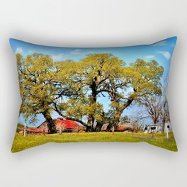 Texas Farm Rectangular Pillow