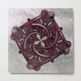 fractal square -2- Metal Print