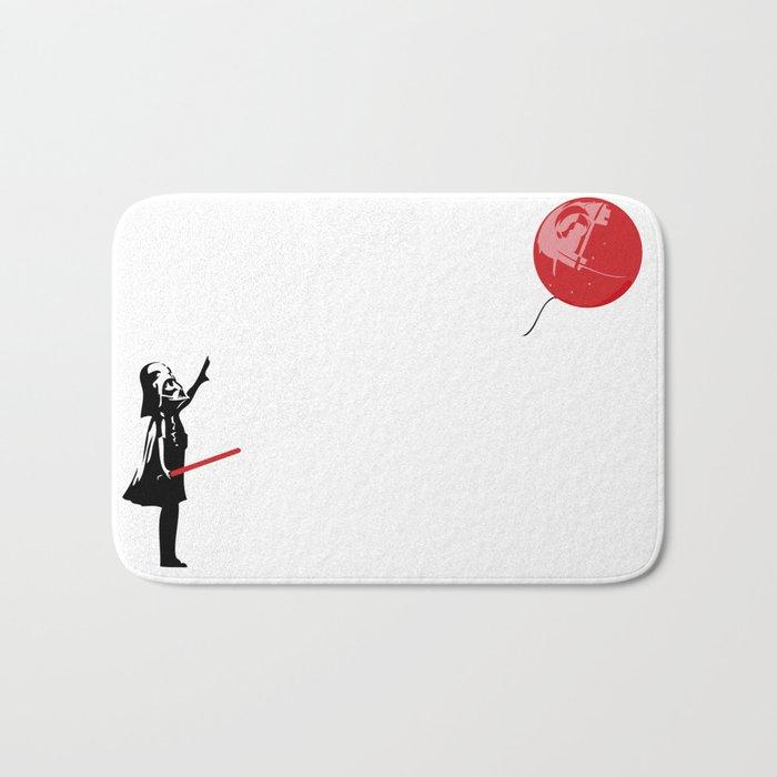 That's No Banksy Balloon (It's a Space Station) Bath Mat