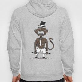 A fu*king tap dancing monkey Hoody