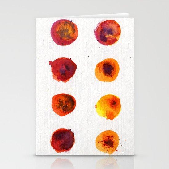 Sherbert Dot Stationery Cards