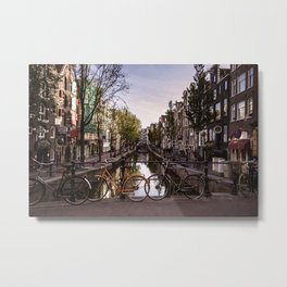 Early Morning, Amsterdam Metal Print