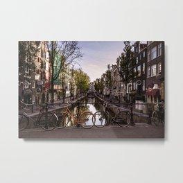 Early Morning, Amsterdam Metal Print