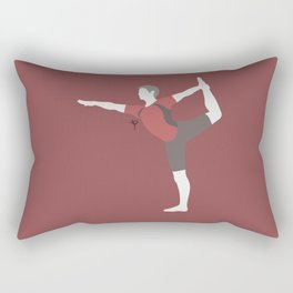 Wii Fit Trainer♂(Smash)Red Rectangular Pillow