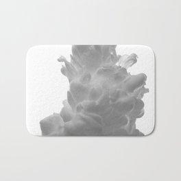 Plume on White Bath Mat