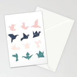 cranes version 2 Stationery Cards