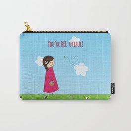 You're Bee-utiful! Carry-All Pouch