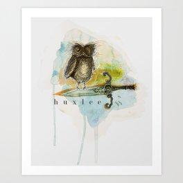 Huxlee  Art Print