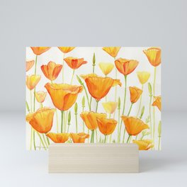 Blossom Poppies Mini Art Print