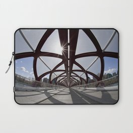 Calgary Peace Bridge; great Architecture Laptop Sleeve