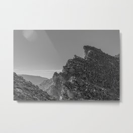Mt. Whitney Trail Metal Print