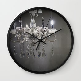 chandelier in NYC Wall Clock