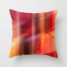 crimson  fall Throw Pillow