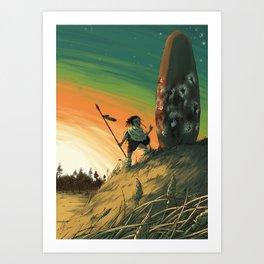 Megalith Art Print