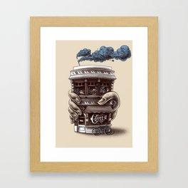 Coffee Co. Framed Art Print