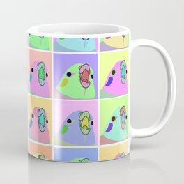pop art cockatiel Coffee Mug