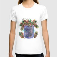 feathers T-shirts featuring Feathers by famenxt