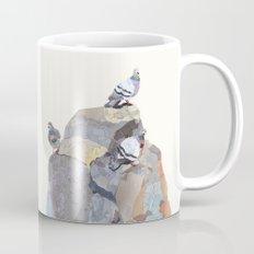 The Pigeon on a Rock Mug