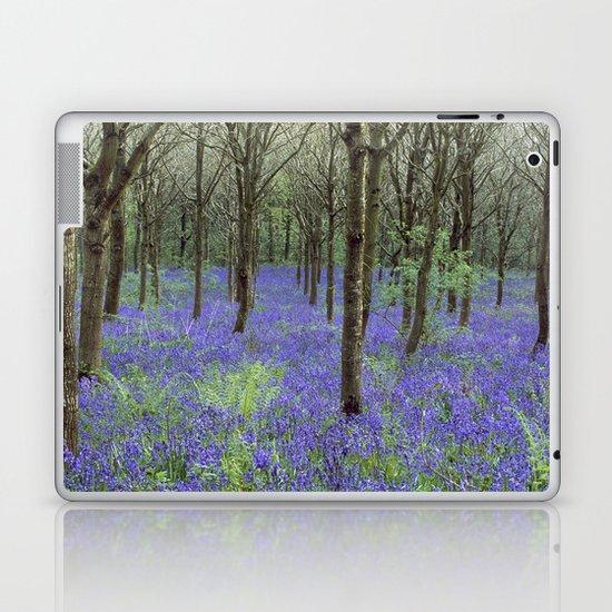 BLUBELL WOOD 1 Laptop & iPad Skin