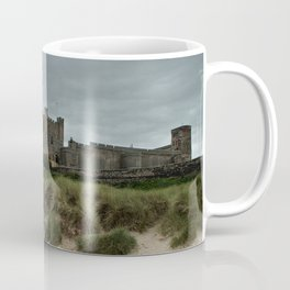 Bamburgh from the Beach Coffee Mug