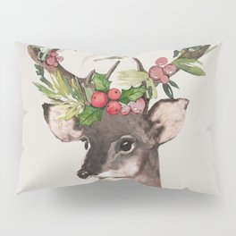 Christmas Deer Pillow Sham