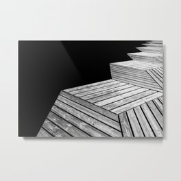 Wood On Sea 1 Metal Print