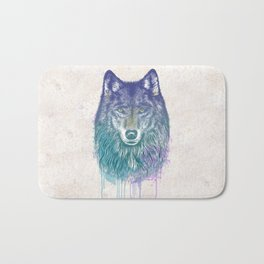 I Dream of Wolf Bath Mat