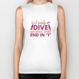 I Only Dive Biker Tank