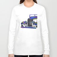 ford Long Sleeve T-shirts featuring Ford Abstract by Beach Bum Pics