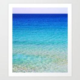 Calm Waters 2 Art Print