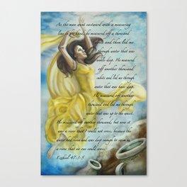 Dancing Glory Canvas Print