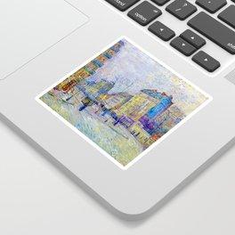 Vincent van Gogh Boulevard de Clichy Sticker