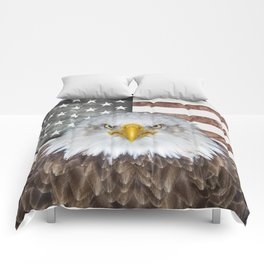 American Bald Eagle Patriot Comforters